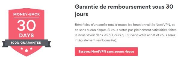 Nord VPN essai gratuit sans carte