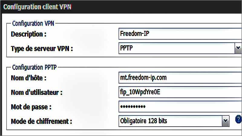 Comment relier sa Freebox à son VPN