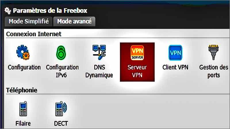 Relier NordVPn et Freebox