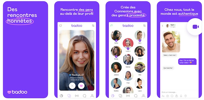 Applications de rencontre : Badoo.